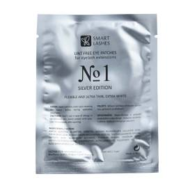 Gelové podložky č.1 - Silver Edition - 10 párů   Smart Lashes