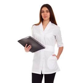 Módní kimono YASMINE - bílé | Smart Lashes