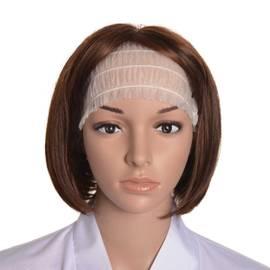 Jednorazowa kosmetyczna opaska na głowę - 100 szt
