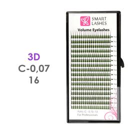 Trsy 3D - C - 0,07 mm x 16 mm - 16 řádků