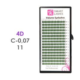 Trsy 4D - C - 0,07 mm x 11 mm - 16 řádků
