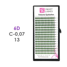 Trsy 6D - C - 0,07 mm x 13 mm - 16 řádků