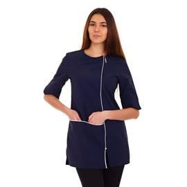 Kosmetická tunika ELISA - modrá | Smart Lashes