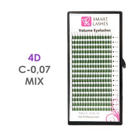 Trsy 4D - C - 0,07 mm x MIX 8-15 mm