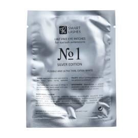 Gelové podložky č.1 - Silver Edition - 1 pár | Smart Lashes