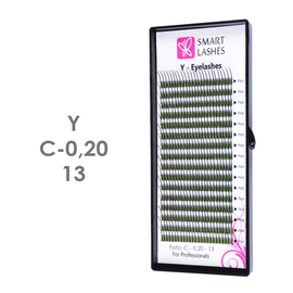 PLN Trsy mihalníc v tvare Y - C - 0,20 mm x 13 mm pásiky - 16 - Kvalita - Premium