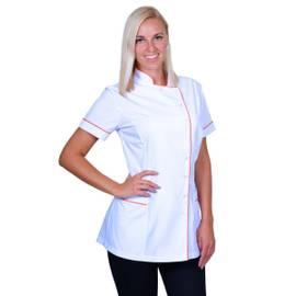 Kosmetická tunika EMMA - bílá | Smart Lashes