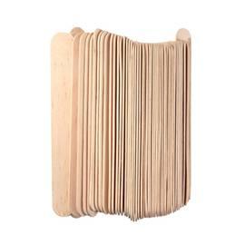Kosmetická dřevěná špachtle - 100 ks