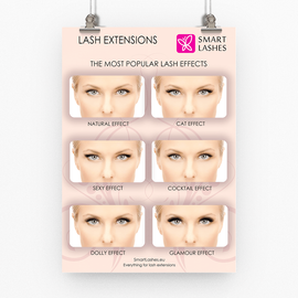 Poster Lash Effects - light - A3